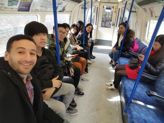 On the way to Camden Market 260319